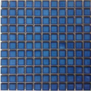 Light Blue Gloss Mosaic tiles