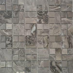 Marble Jumble Flower mosaic tile sheets