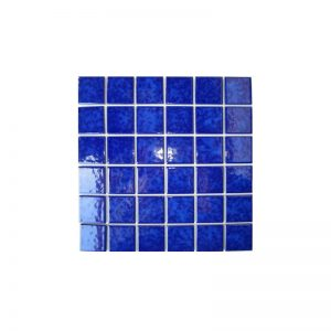 Mottle Blue Gloss Mosaic tiles