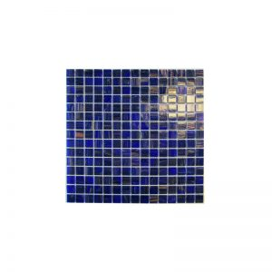 Royal Blue/Copper Mosaic tiles