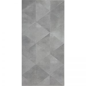 Triangle Grey Matte tiles