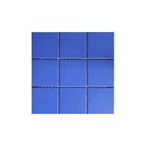 10x10 RAL Aqua Blue Mosaic tile sheet