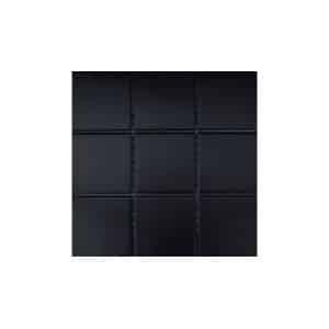 10x10 RAL Black Mosaic tile sheet