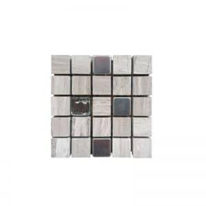 15x15 Stone Mix mosaic tile sheet