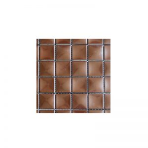 Glamour Copper Mosaic tile sheet