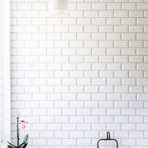 Bevelled White Gloss Wall tiles