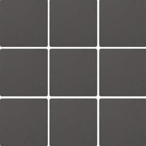 Colour Dot Anthracite Mosaic tiles