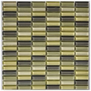 Meadow Gemstone Mosaic tile sheet