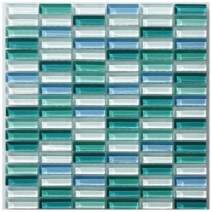 Ocean Gemstone Mosaic tile sheet