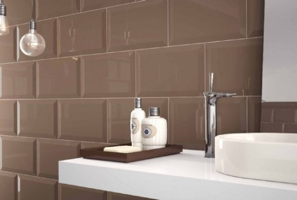 Oxford Cacao Bevelled Edge Wall tiles