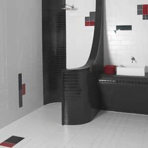 RAL White Pool Poolsafe tiles