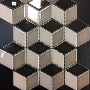 Rubix Cube #1 Mosaic Tile sheet