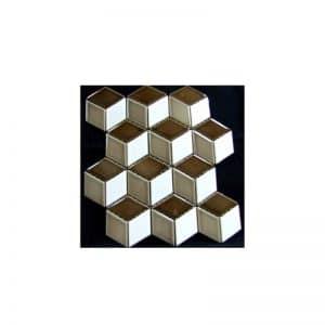 Rubix Cube #2 Mosaic Tile sheet