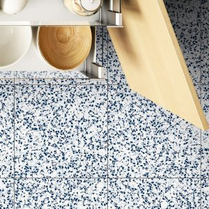 Rhapsody Staccato Navy Gullwing tiles