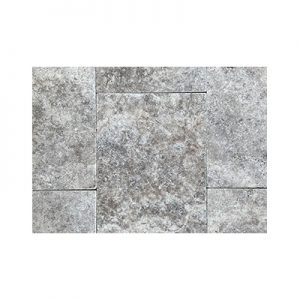 Silver Travertine Stone tiles