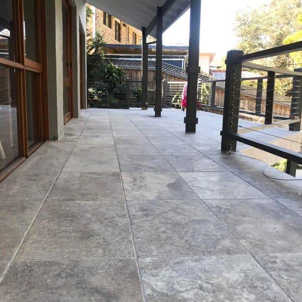 Silver Travertine Stone tiles
