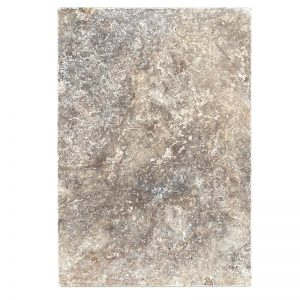 Silver Travertine Tumbled Stone pavers