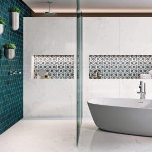 Lumina Carrara Polished tiles