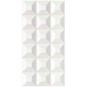 Winter Ice Cube White tiles