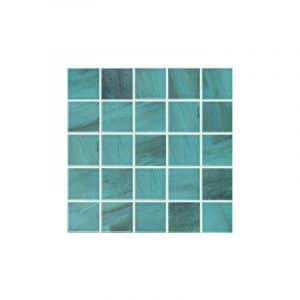 Carrera Green Mosaic Pool Safe tiles