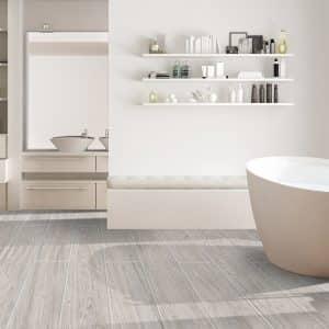New Hamptons Grey timber look tiles