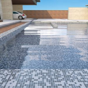 Paradise Langkawi Pool Safe Mosaic tiles