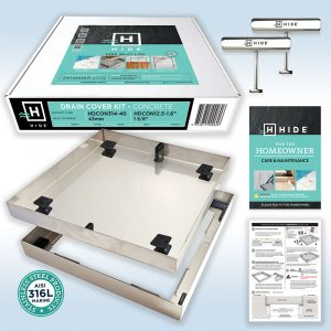 HIDE Concrete Skimmer Lid / Access Cover