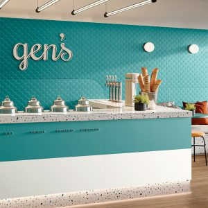 Genesis Shell Marine Blue tiles