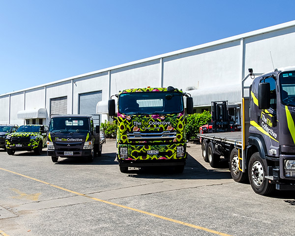We have vehicles for all size orders